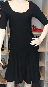NANETTE LEPORE FIT & FLARE DRESS S